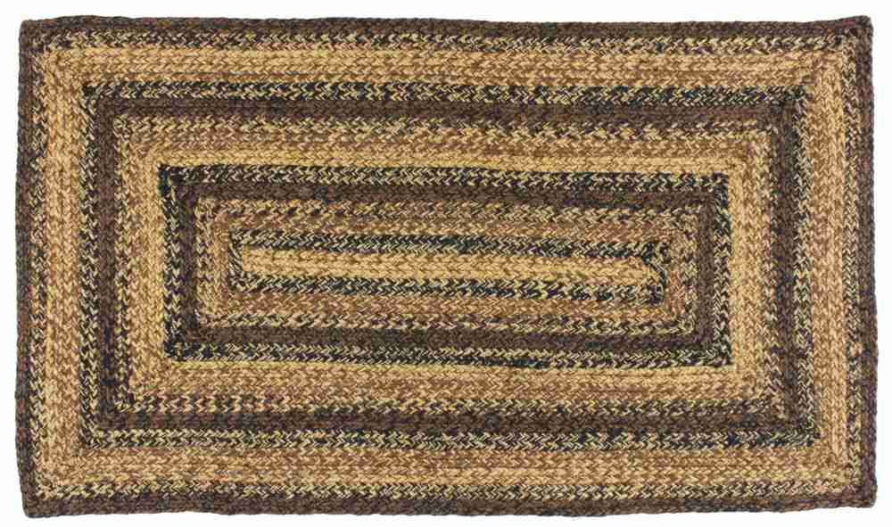 Cappuccino Jute Rug Rectangle 8 X 10 Ft Allysons Place