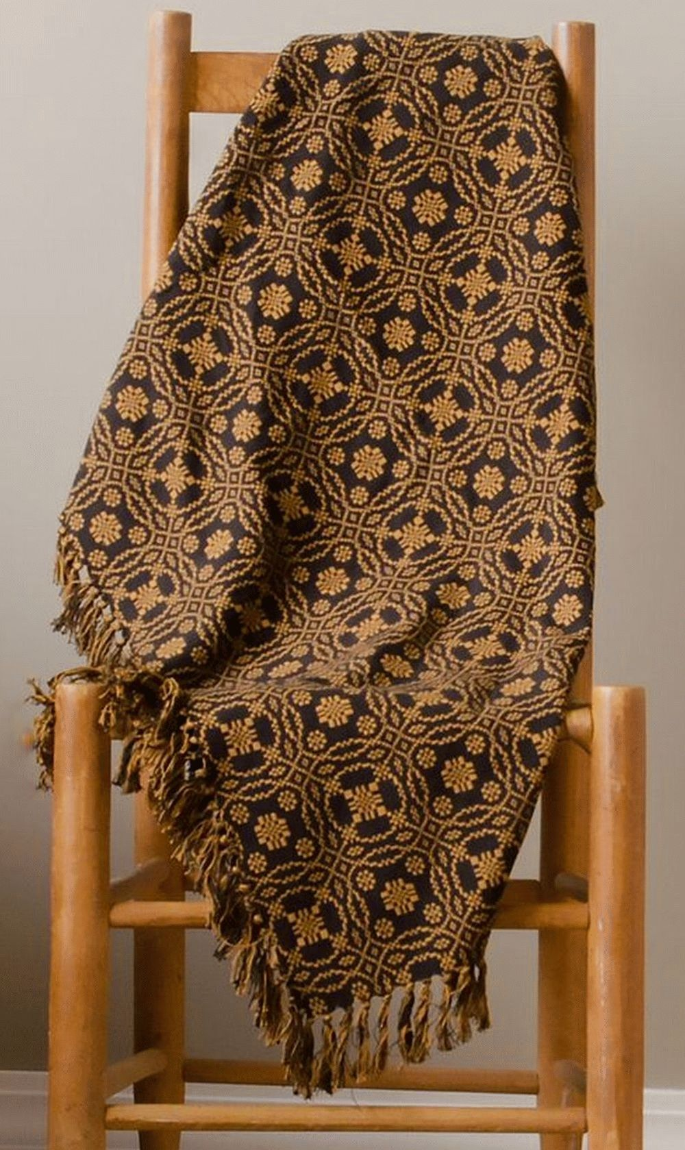 Lover S Knot Jacquard Afghan Throw Allysons Place