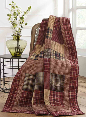 large allysons collections rutherford quilted throw throws place quilt