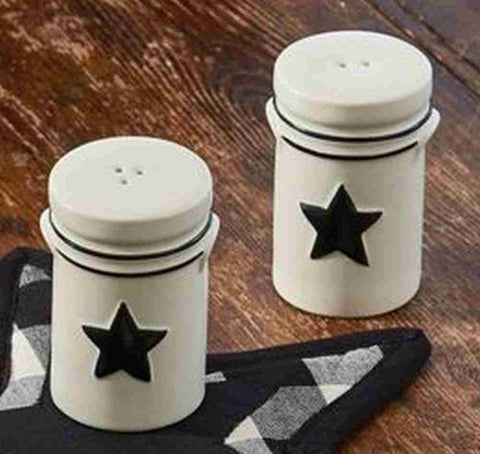 Country Star Salt and Pepper Shaker & Crows \u0026 Stars tagged \