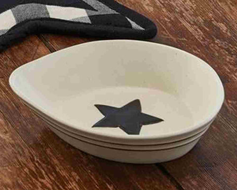 Country Star Spoon Rest & Dinnerware Bakeware and Canisters - Allysons Place