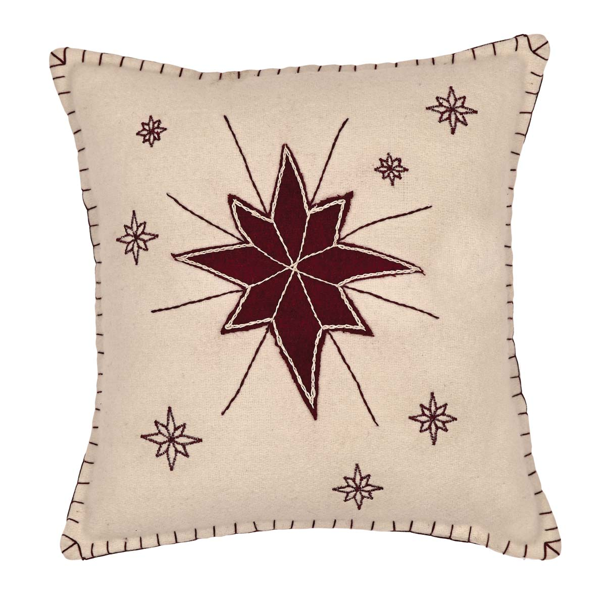 North Star Pillow 16x16 - Allysons Place