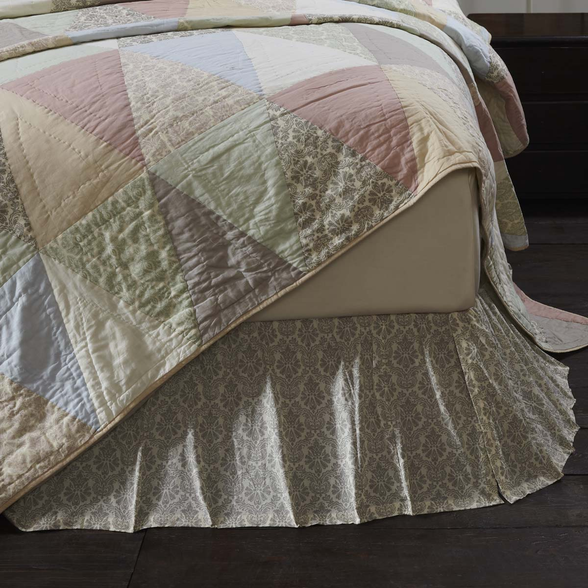 Ava Twin Bed Skirt 39x76x16 Allysons Place