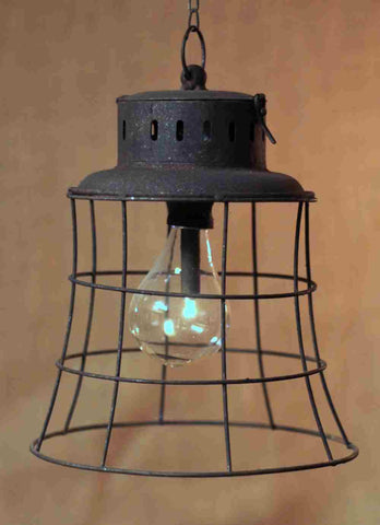 Metal antique lantern