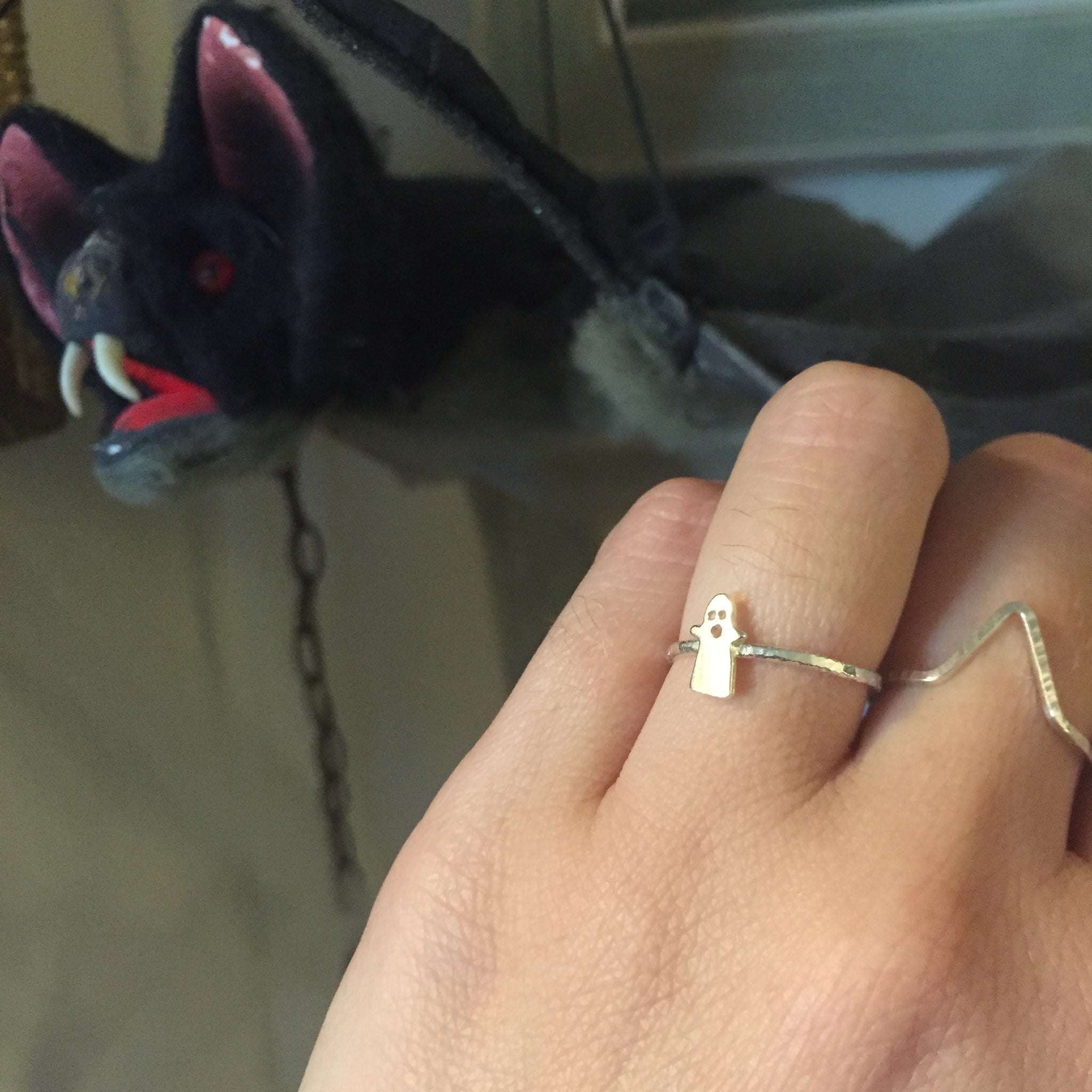 Bat and Ghost Rings