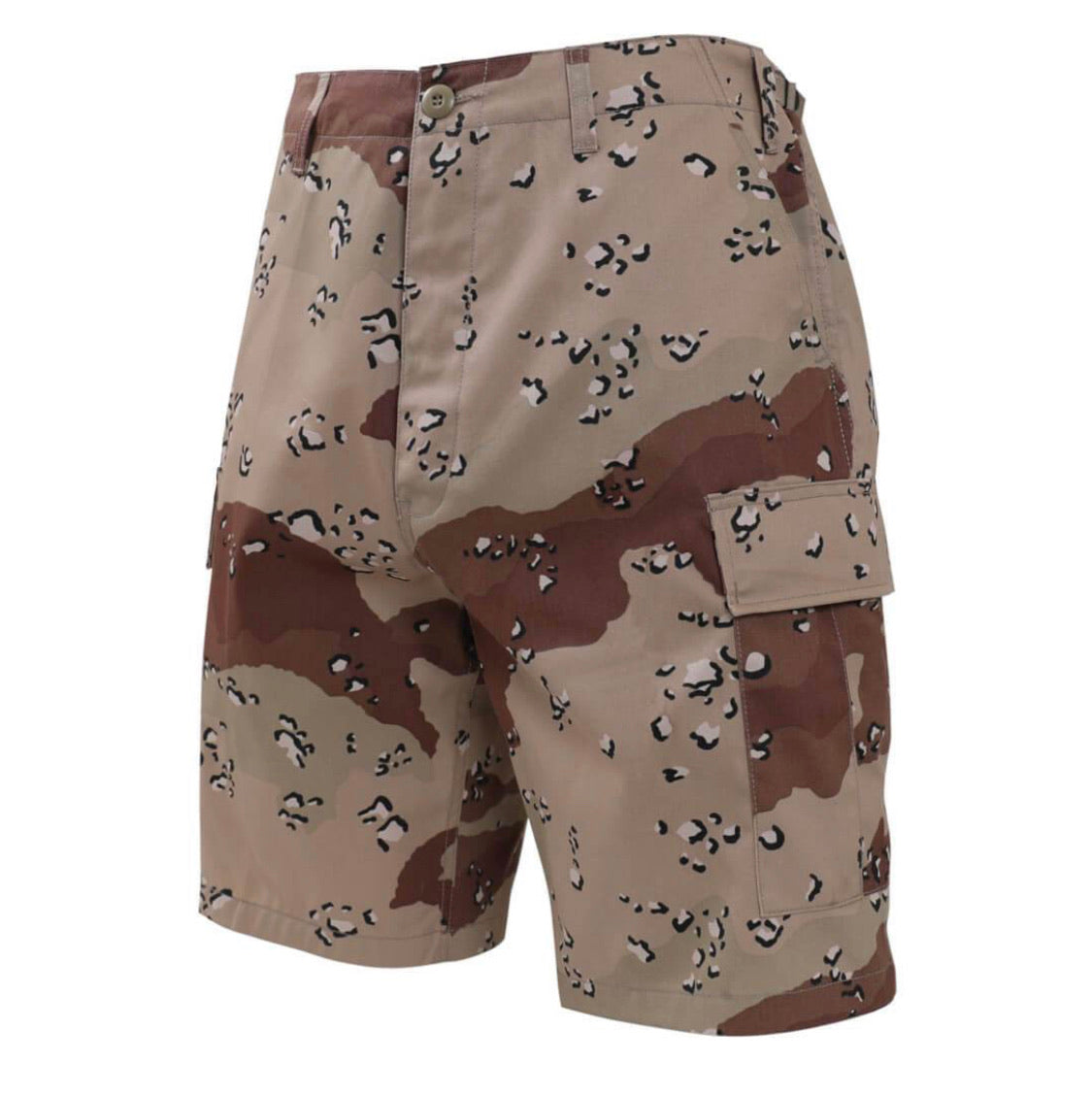Spotted Camouflage Shorts