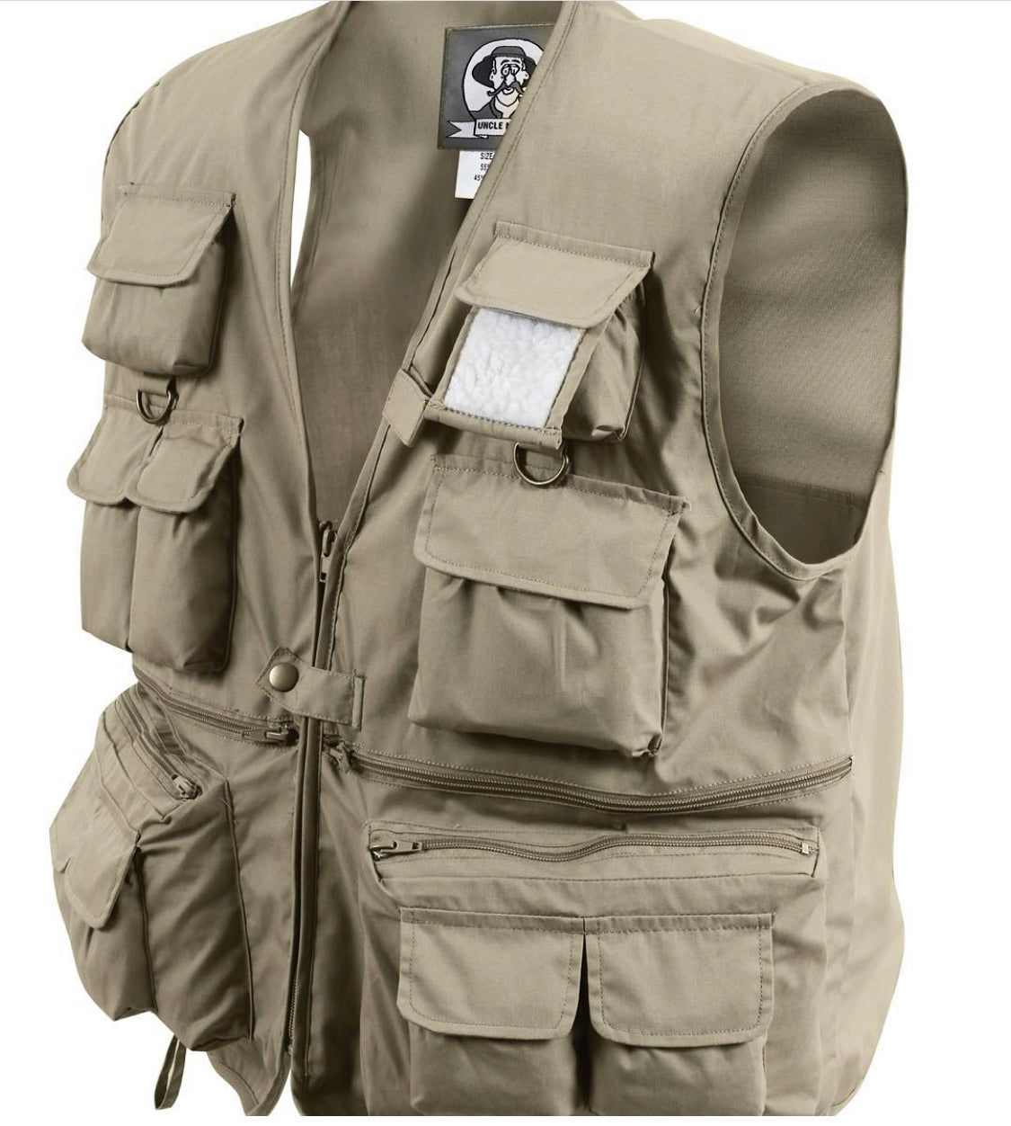 Multi Pocket Travel Vest