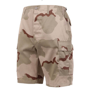 Tri Color Camouflage Shorts