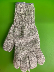 Wool glove in natural