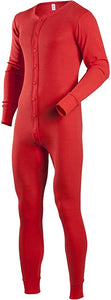 Red Thermal onesie