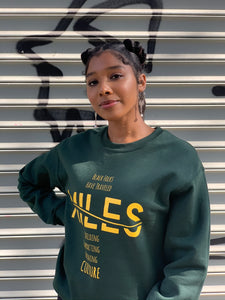 MILES Legacy Crewneck Sweatshirt in Green