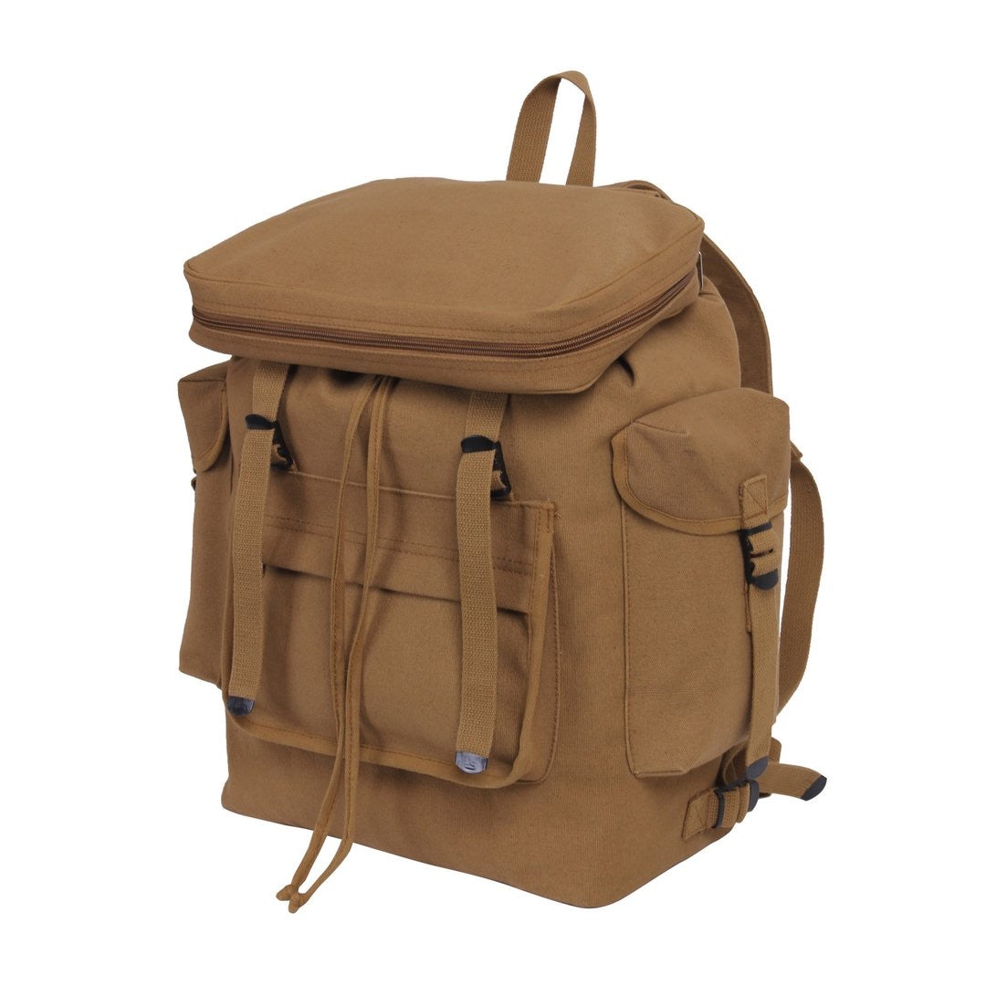Large Canvas Backpack
