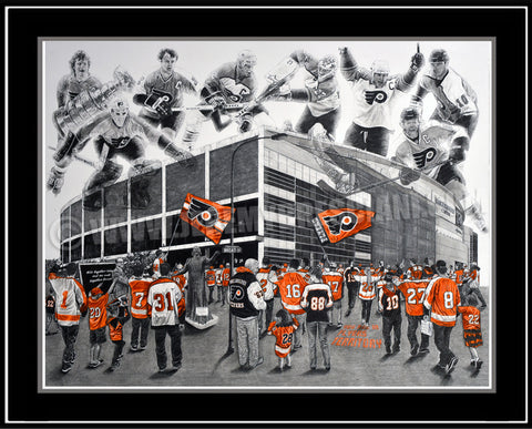 """Broad Street Bullies"" Limited Edition Print"