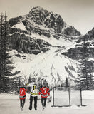 "FAMILY ""Hockey Mountain Memories"" PERSONALIZED Artwork"