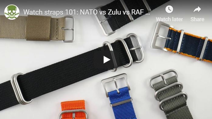 Nylon Straps 101, the differences