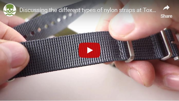 Comparisons of our different nylon straps!
