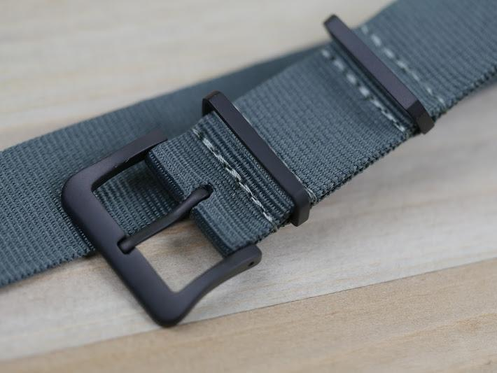 Nylon Watch Strap with Black Hardware (Toxic BLACKOut)