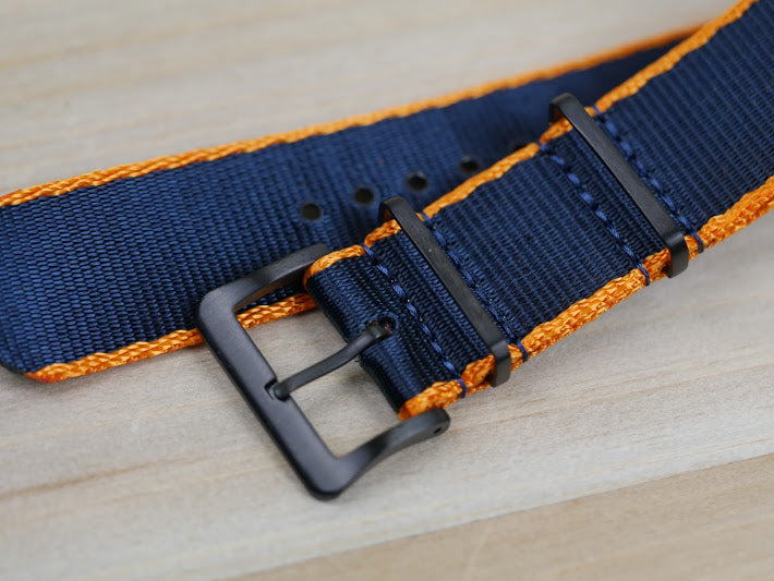 Toxic Shiznit Black OUT (Seatbelt Nato Strap)