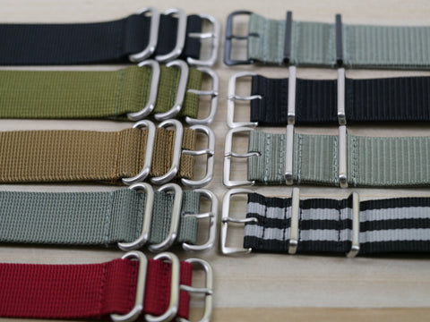 24mm Nylon Watch Bands - ZULUz