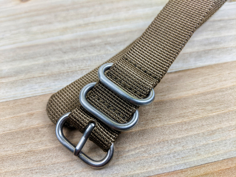 Toxic TOUGH (shi!t) Zuluz Nylon Watch Straps