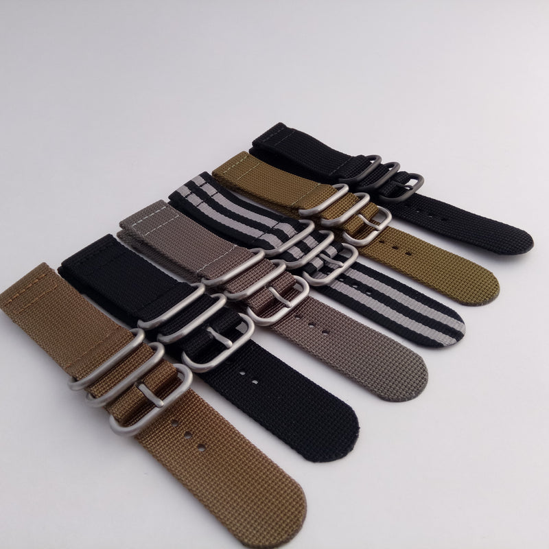 2 piece Zuluz strap, Apple strap, robust nylon strap