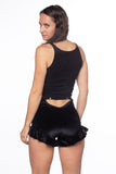 RTS INFERNO RUFFLE SHORTS