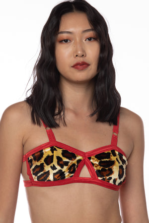 RTS KITTY VELVET EVERYDAY BRALETTE