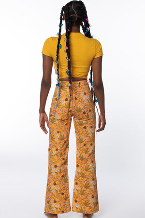 RTS TANG PRINTED DENIM PANT