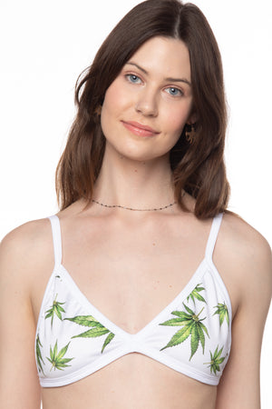 RTS MARY JANE TRIANGLE SWIM TOP