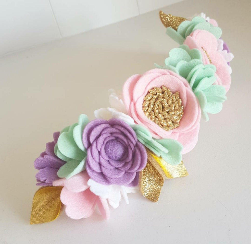"""Pastel Dreams"" Luxe Crown"