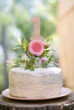 Load image into Gallery viewer, Number Cake Topper 0 - 9