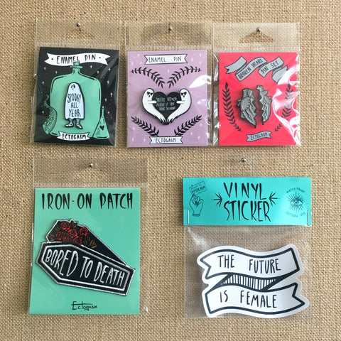 Wholesale Enamel Pins, Patches, and Sticker - Become a