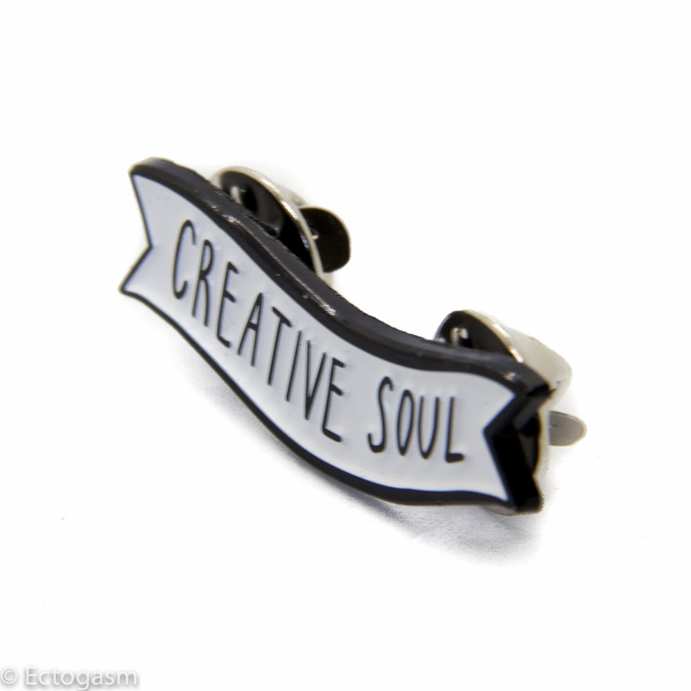 A cool enamel pin for artists, musicians, designers, and other creatives.