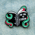 """The Call of Cthulhu"" HP Lovecraft Enamel Pin"