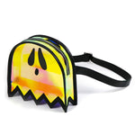 A spooky Halloween waist bag shaped like a ghost.