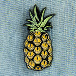 Pineapple with Eyes Oddity Enamel Pin