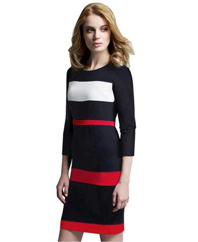 Trendy Work Dress - Stylish Lady