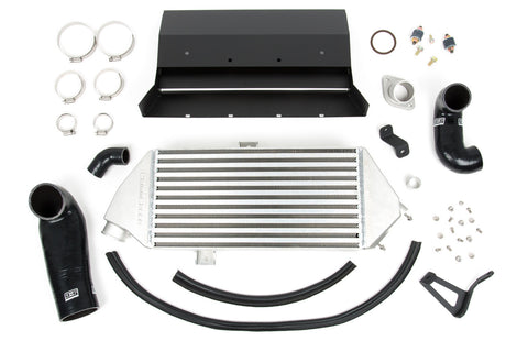 GrimmSpeed Top Mount Intercooler Silver Subaru WRX 08-14
