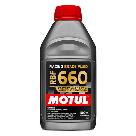 Motul RBF 660 Racing DOT 4 Synthetic Brake Fluid