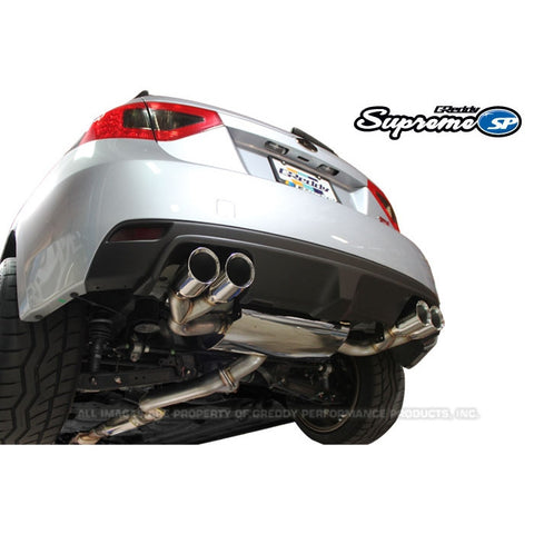 GReddy Supreme SP Cat Back Exhaust Hatchback Subaru STI 08-14