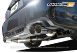 GReddy EVOlution GT Dual Muffler Cat-Back Exhaust Subaru WRX 11-14/STI 11-14