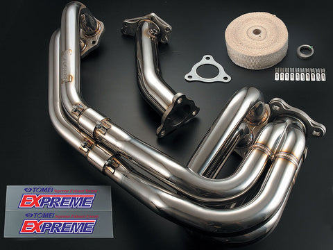 Tomei Expreme Unequal Length Exhaust Manifold Subaru WRX 02-14/STI 04-16/Legacy GT 05-09/Forester XT 04-09