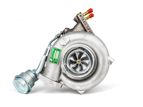 Forced Performance FP54 Green w/o Wastegate Actuator Ball Bearing Turbocharger Mitsubishi Evo 8/9 03-06