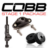 COBB Tuning Stage 1+ Drivetrain Package White Knob/Red Logo Subaru WRX 08-14/Legacy GT 05-09/Forester XT 06-08