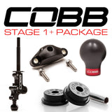 COBB Tuning Stage 1+ Drivetrain Package Black Knob/Red Logo Subaru STI 04-16