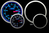 ProSport Oil Pressure Gauge With Electric Sender Blue/White 52mm