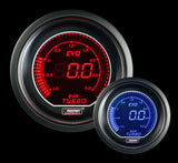 ProSport Digital Boost Gauge Electrical w/Sender BAR 52mm Red/Blue