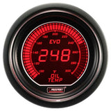 ProSport Digital Oil Temperature Gauge Electrical w/Sensor 52mm Red/Blue
