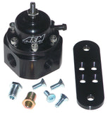 AEM Black Adjustable Fuel Pressure Regulator