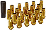 Muteki SR48 Chrome YellowOpen Ended Lug Nuts 12X1.25